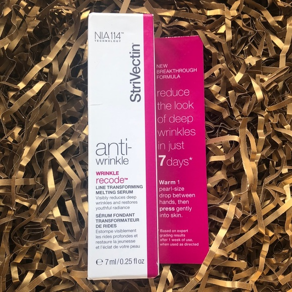 StriVectin Other - Wrinkle Recode Line Transforming Melting Serum